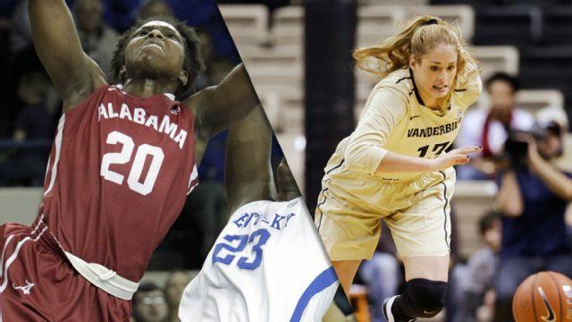 Alabama vs. Vanderbilt (First Round, Game 2) (SEC Women's Tournament) (re-air)