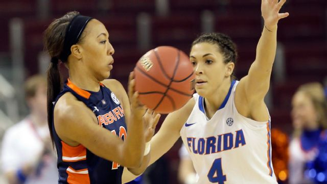 Auburn vs. Florida (First Round, Game 1) (SEC Women's Tournament) (re-air)