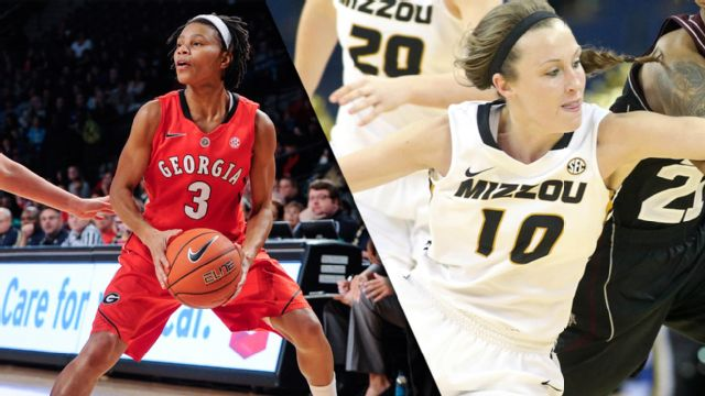 Georgia vs. Missouri (Second Round, Game 3) (SEC Women's Tournament)