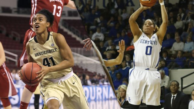 Vanderbilt vs. #12 Kentucky (Second Round, Game 4) (SEC Women's Tournament)