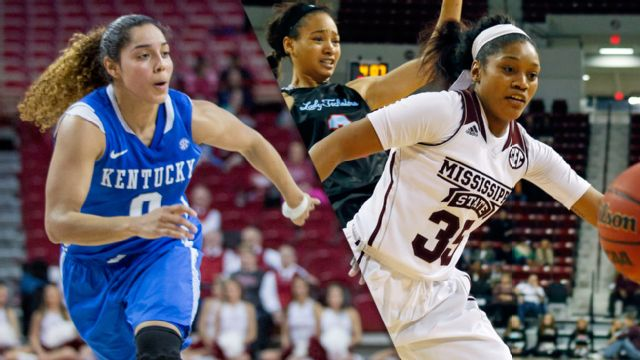 #12 Kentucky vs. #11 Mississippi State (Quarterfinal #4) (SEC Women's Tournament)