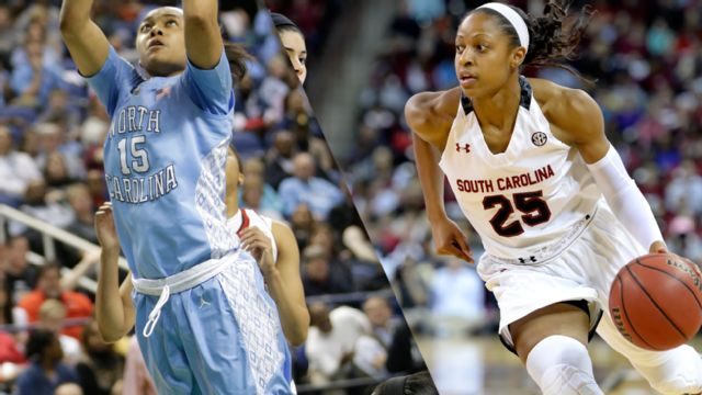 #4 North Carolina vs. #1 South Carolina (Regional Semifinal) (NCAA Division I Women's Basketball Championship)