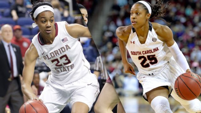 #2 Florida State vs. #1 South Carolina (Regional Final) (NCAA Division I Women's Basketball Championship)