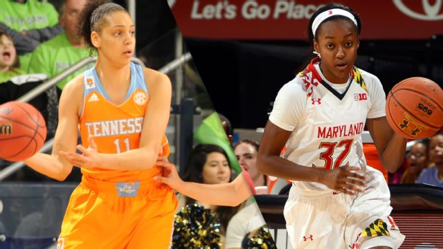 #2 Tennessee vs. #1 Maryland (Regional Final) (NCAA Division I Women's Basketball Championship)