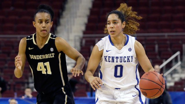 Vanderbilt vs. Kentucky (Second Round, Game 4) (SEC Women's Tournament) (re-air)