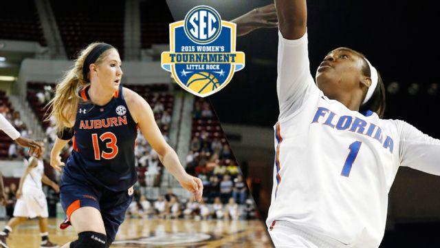 Auburn vs. Florida (First Round, Game 1) (SEC Women's Tournament)