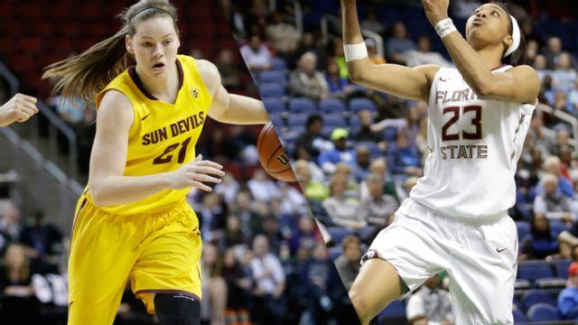 #3 Arizona State vs. #2 Florida State (Regional Semifinal) (NCAA Division I Women's Basketball Championship)