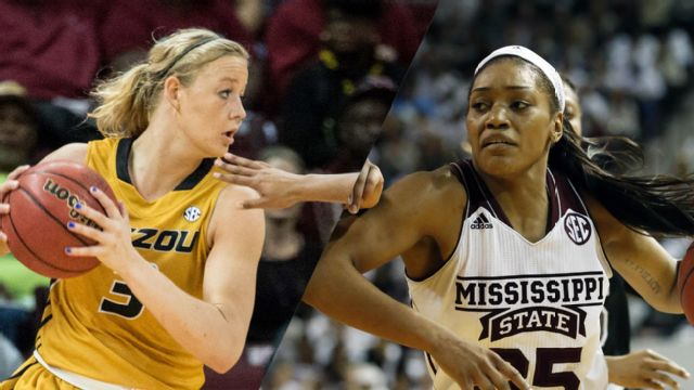 #21 Missouri vs. #11 Mississippi State (W Basketball)