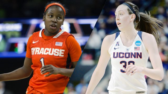 #4 Syracuse vs. #1 Connecticut (National Championship) (NCAA Women's Basketball Championship) (re-air)