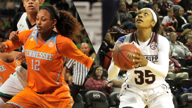 #19 Tennessee vs. #13 Mississippi State (W Basketball) (re-air)