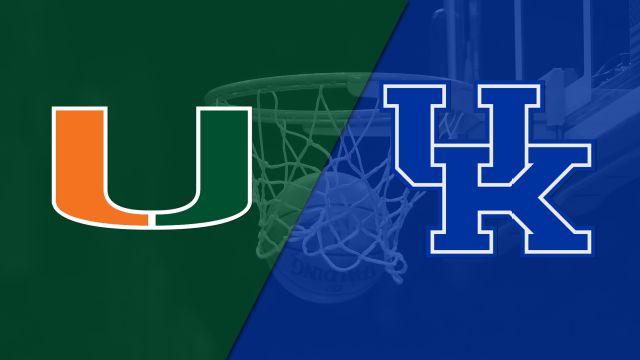 #14 Miami vs. #19 Kentucky (W Basketball)