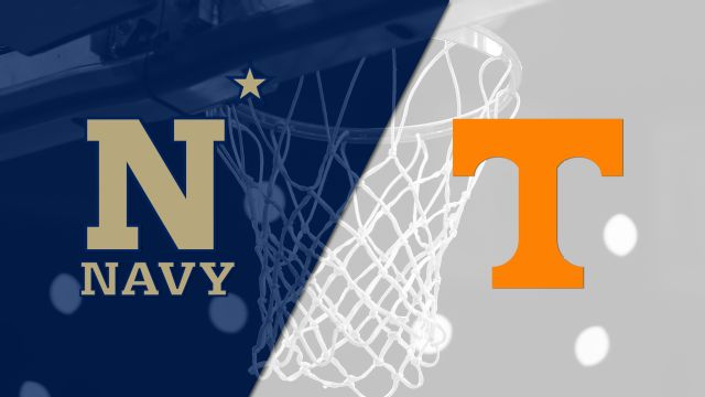 Navy vs. #13 Tennessee (W Basketball)