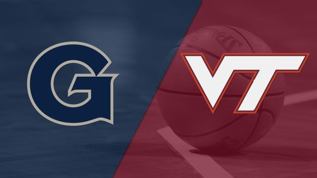 Georgetown vs. Virginia Tech (W Basketball)