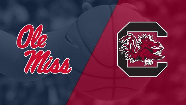 Ole Miss vs. #5 South Carolina (W Basketball) (re-air)