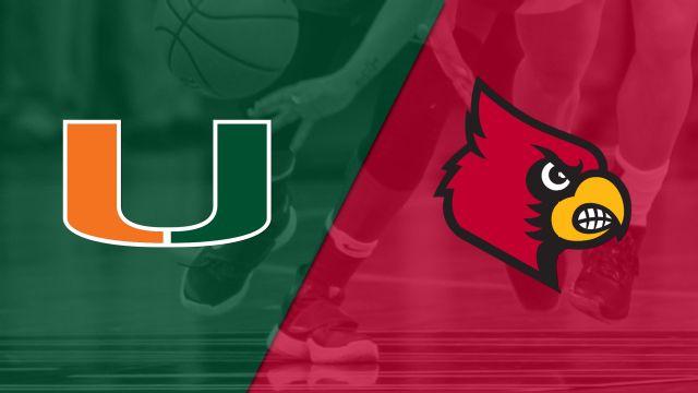 #14 Miami vs. #9 Louisville (W Basketball)