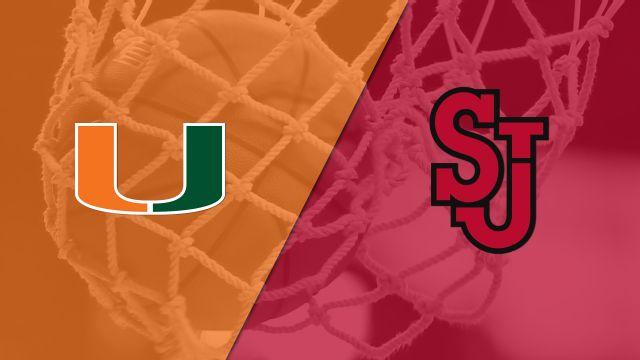 Miami (FL) vs. St. John's (W Basketball)
