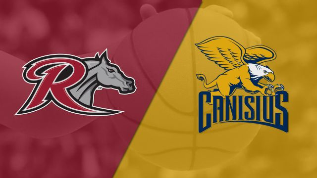 Rider vs. Canisius (W Basketball)
