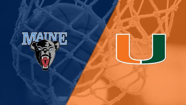 Maine vs. #11 Miami (W Basketball)