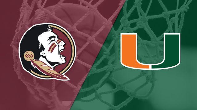 #7 Florida State vs. #11 Miami (W Basketball)
