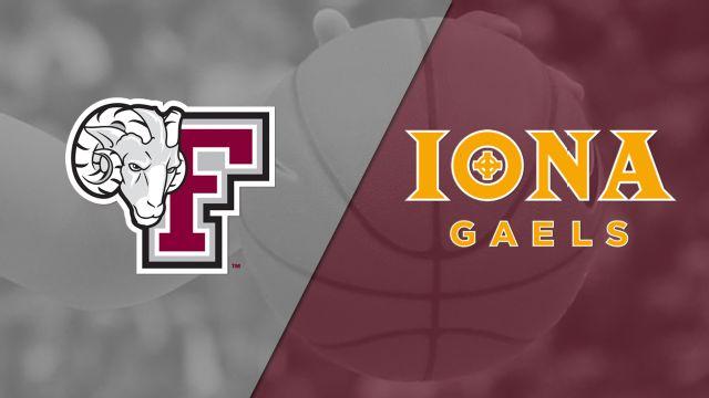 Fordham vs. Iona (W Basketball)