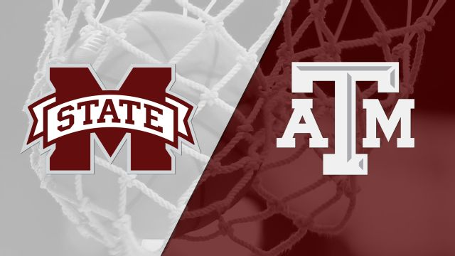 #3 Mississippi State vs. #23 Texas A&M (W Basketball) (re-air)