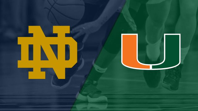 #7 Notre Dame vs. #14 Miami (W Basketball)