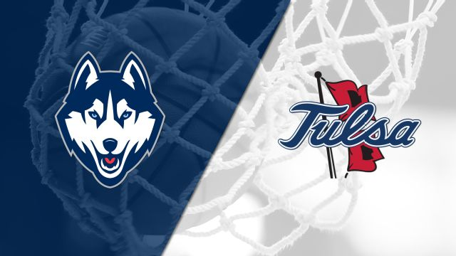 #1 Connecticut vs. Tulsa (W Basketball)