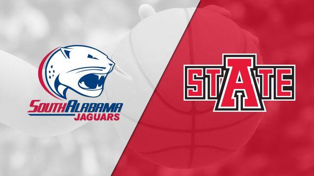 South Alabama vs. Arkansas State (W Basketball)