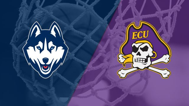 #1 Connecticut vs. East Carolina (W Basketball)