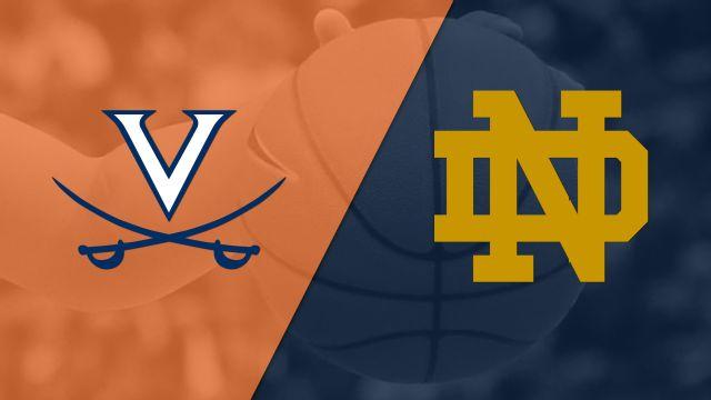 Virginia vs. #8 Notre Dame (W Basketball)