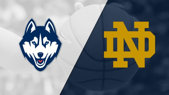 #1 Connecticut vs. #2 Notre Dame (W Basketball) (re-air)