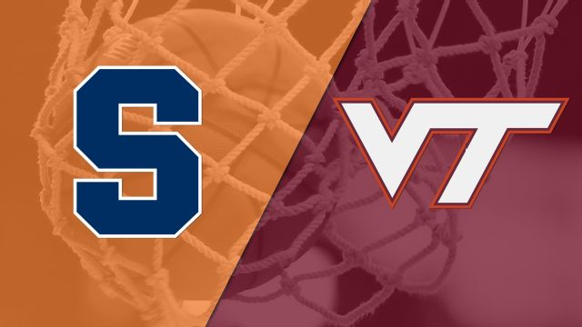 Syracuse vs. #19 Virginia Tech (W Basketball)