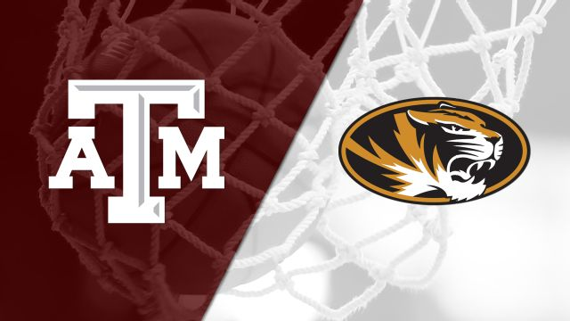 #25 Texas A&M vs. Missouri (W Basketball)
