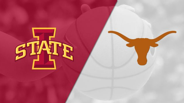 Iowa State vs. #6 Texas (W Basketball) (re-air)