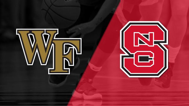 Wake Forest vs. #15 NC State (W Basketball)
