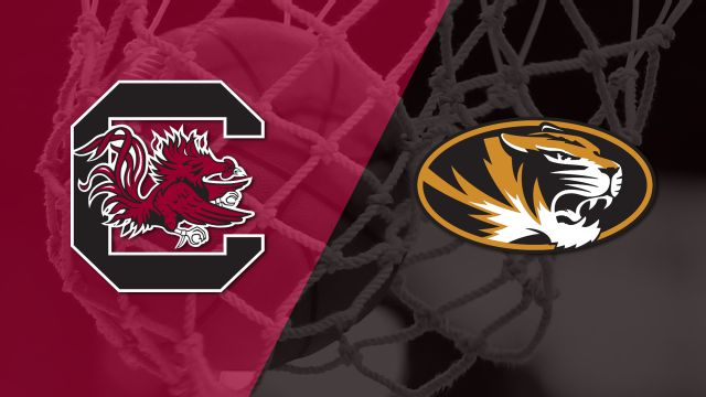 #6 South Carolina vs. Missouri (W Basketball)
