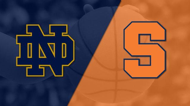 #7 Notre Dame vs. #21 Syracuse (W Basketball)