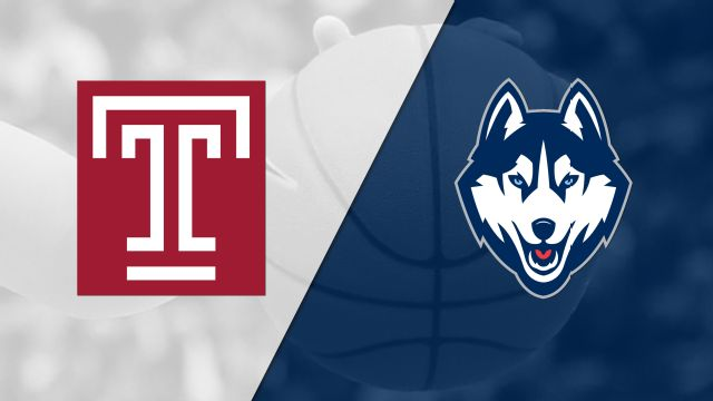 #23 Temple vs. #1 Connecticut (W Basketball)
