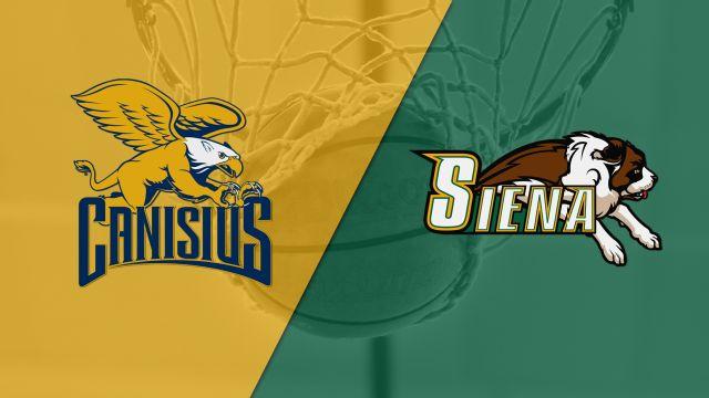 Canisius vs. Siena (W Basketball)
