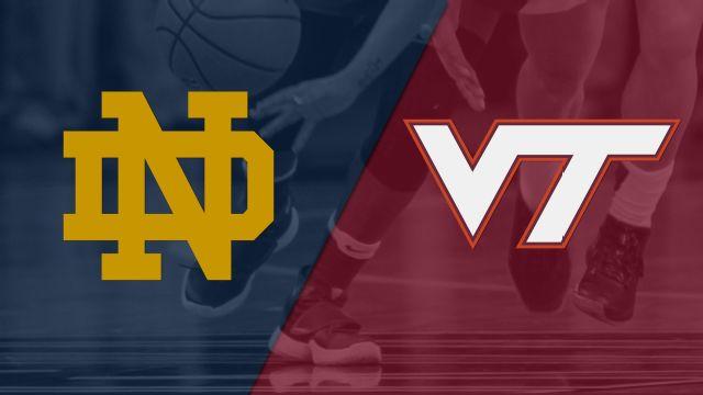 #7 Notre Dame vs. Virginia Tech (W Basketball)