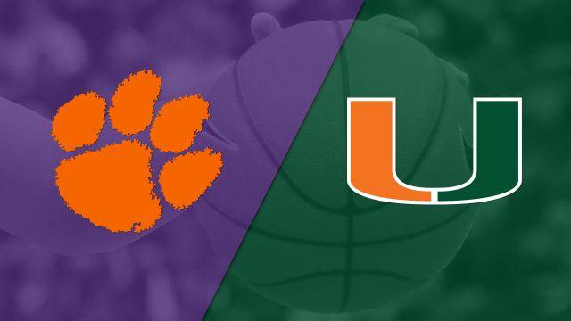 Clemson vs. #16 Miami (W Basketball)