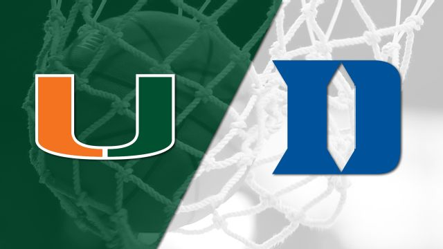 #16 Miami vs. #13 Duke (W Basketball)