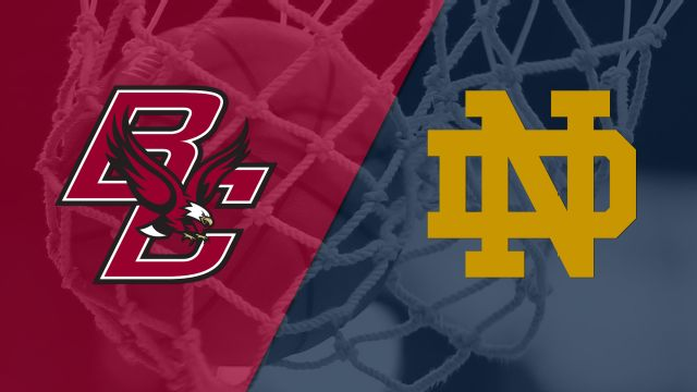 Boston College vs. #5 Notre Dame (W Basketball)