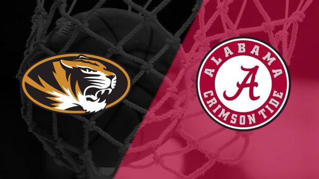 #24 Missouri vs. Alabama (W Basketball)