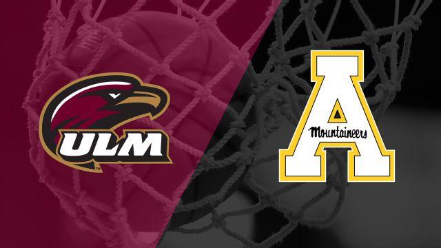 UL Monroe vs. Appalachian State (W Basketball)