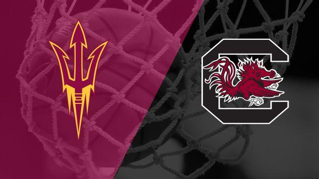 #8 Arizona State vs. #1 South Carolina (Second Round) (NCAA Women's Basketball Championship)
