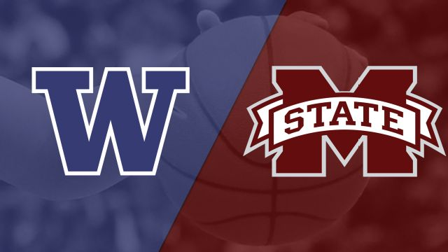 #3 Washington vs. #2 Mississippi State (Regional Semifinal) (NCAA Women's Basketball Championship)