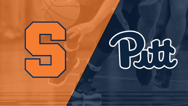 #20 Syracuse vs. Pittsburgh (W Basketball)