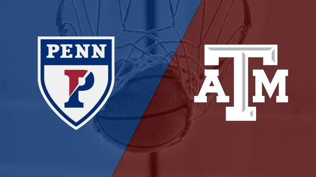 #12 Pennsylvania vs. #5 Texas A&M (First Round) (NCAA Women's Basketball Championship)