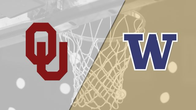 #6 Oklahoma vs. #3 Washington (Second Round) (NCAA Women's Basketball Championship)